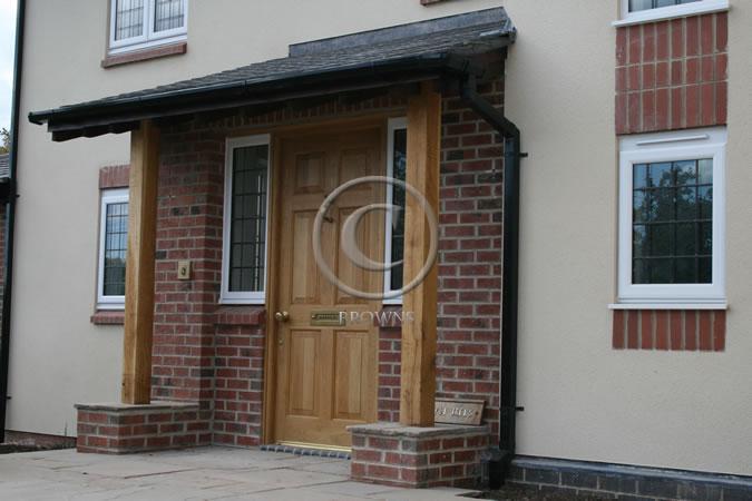 Browns range of quality external oak doors for External porch doors