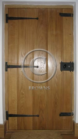 ED1 Reverse of door