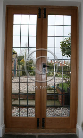 ED10 Oak door reverse