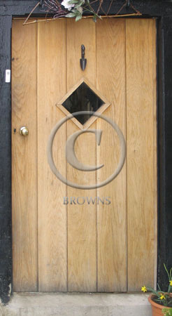 ED3 Oak plank door
