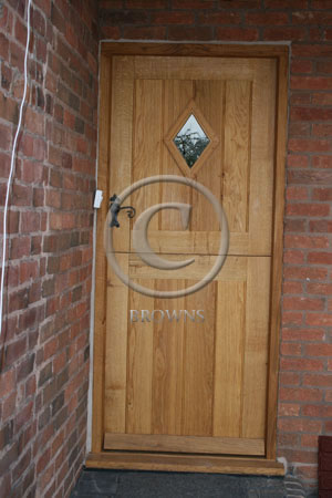 ED4 flb oak stable door