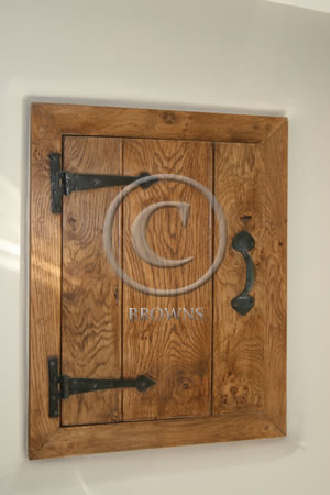 Cute oak cupboard door