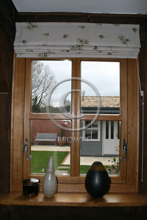 Pewter window ironmongery