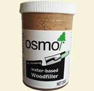 tub of osmo wood filler