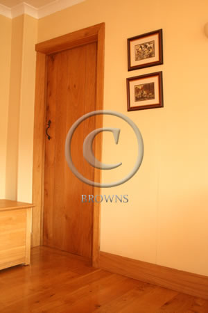 Oak flooring, doors and skirting