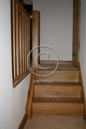 Simple staircase made to order